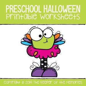 Preschool Halloween Printable Worksheets Math Number Worksheets