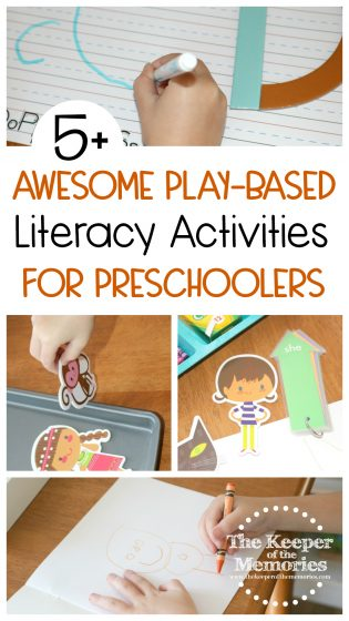 5+ Awesome Play-Based Literacy Activities for Preschoolers