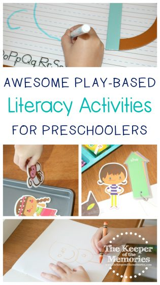 Awesome Play-based Literacy Activities for Preschoolers
