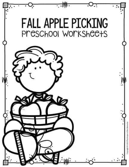 Free Printable Apple Worksheets