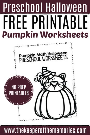 Free Printable Pumpkin Worksheets