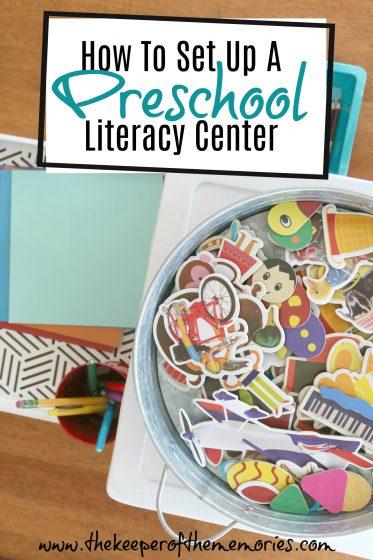How To Set Up A Preschool Literacy Center