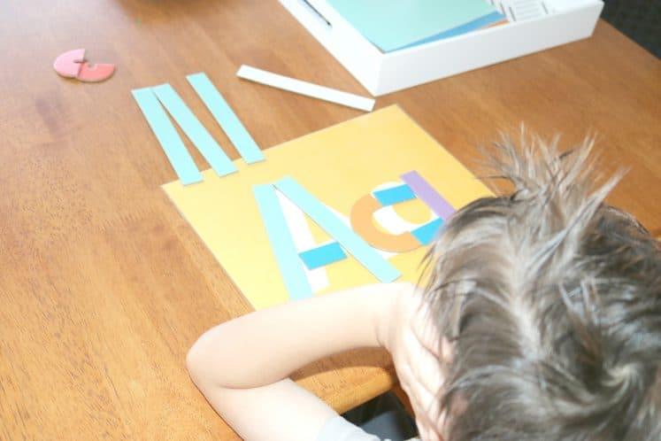 Literacy Activities for Preschoolers Alphabet Mats