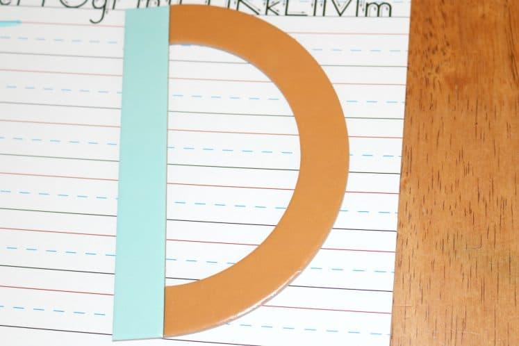 Literacy Activities for Preschoolers Building Letters