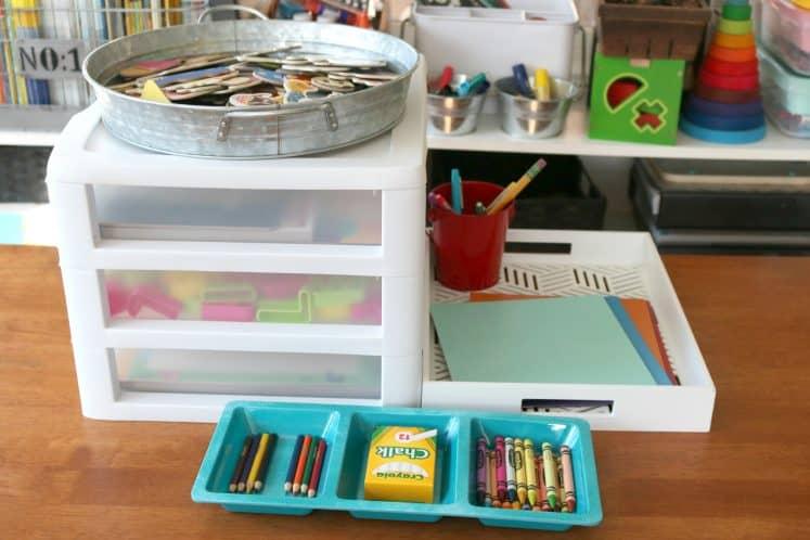 Literacy Center Preschool Writing Center