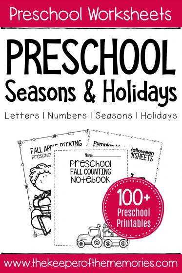 Preschool Seasons & Holidays