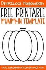 Free Printable Pumpkin Template