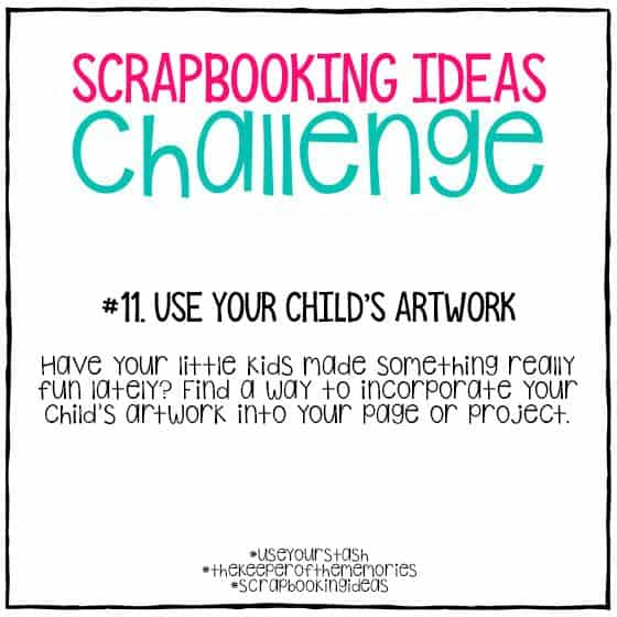 Scrapbooking Ideas Challenge 11