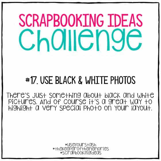 Scrapbooking Ideas Challenge 17