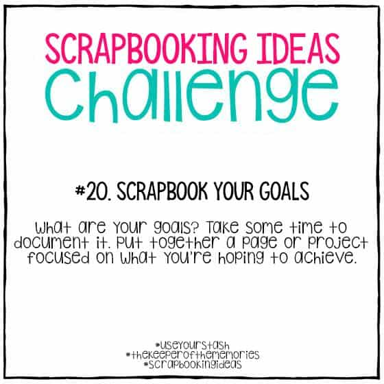 Scrapbooking Ideas Challenge 20