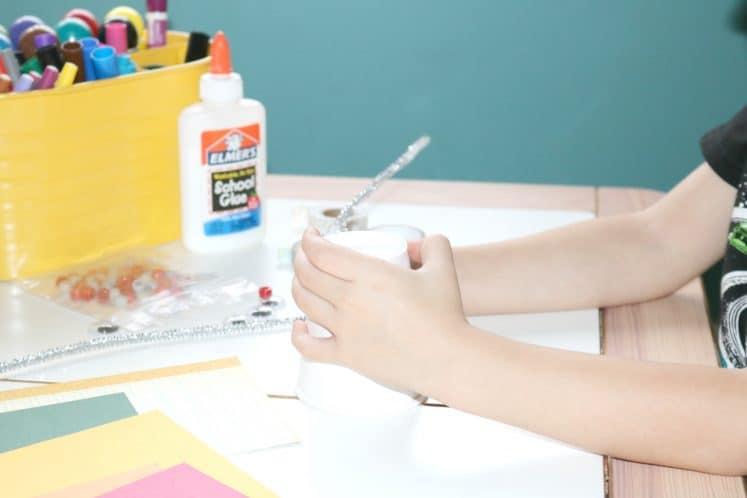 Robot Tinkering Process Art 1