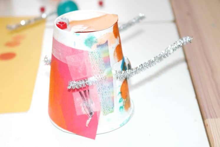 Robot Tinkering Process Art 10