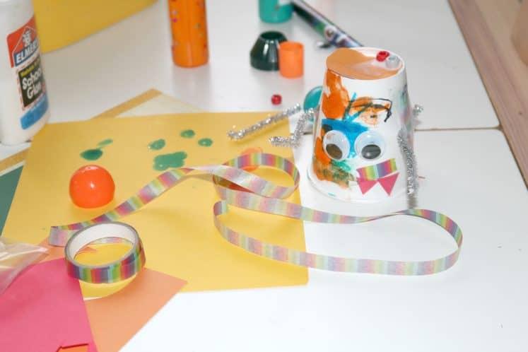 Robot Tinkering Process Art 12