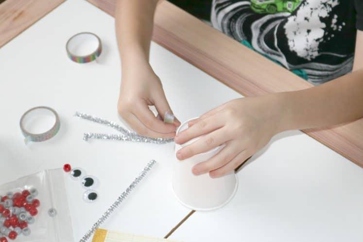 Robot Tinkering Process Art 3