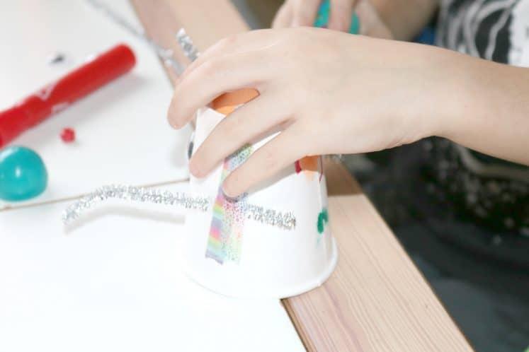 Robot Tinkering Process Art 7