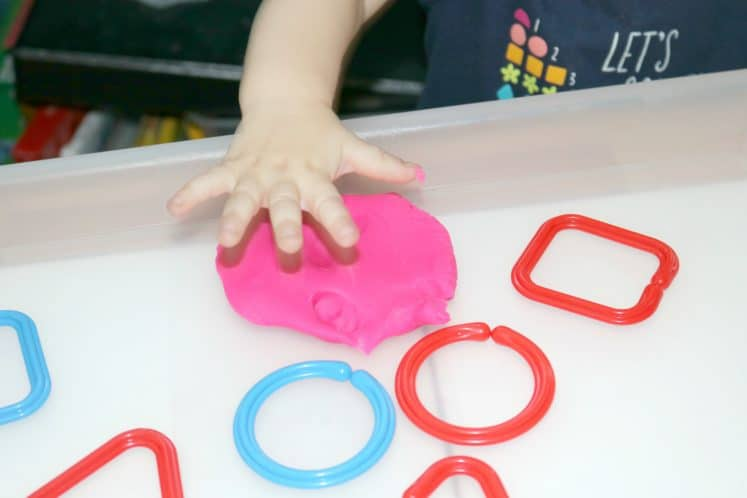 Shapes Toddler Activity 1