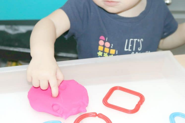 Shapes Toddler Activity 2