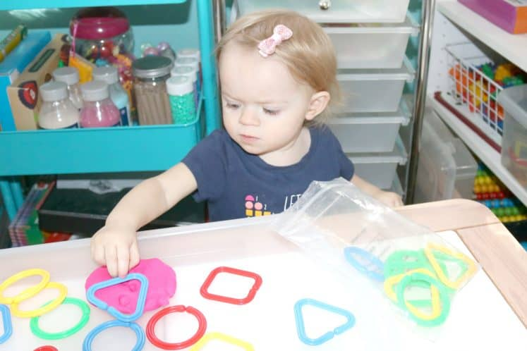 Shapes Toddler Activity 4