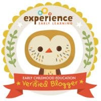 Experience Early Learning Early Childhood Education Verified Blogger badge with owl