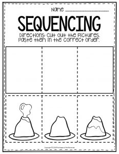 Free Printable Sequence Of Events Worksheets - Get Story Sequencing Worksheets For Kindergarten Background