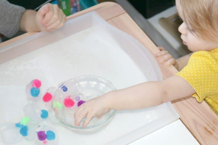 Frozen Objects Winter Preschool Activity 15