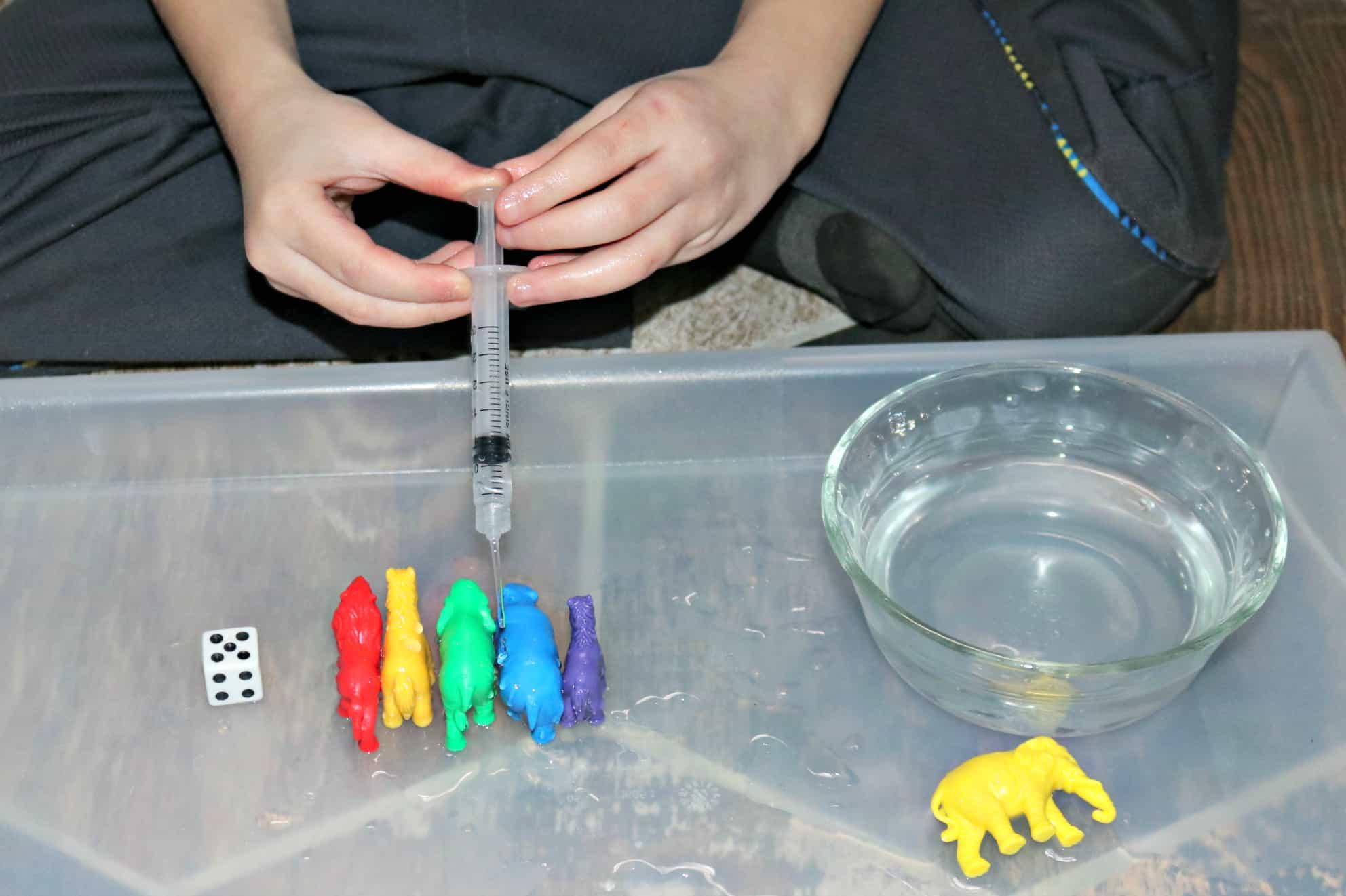 Sick Animals Subitizing Activity for Preschoolers & Kindergartners