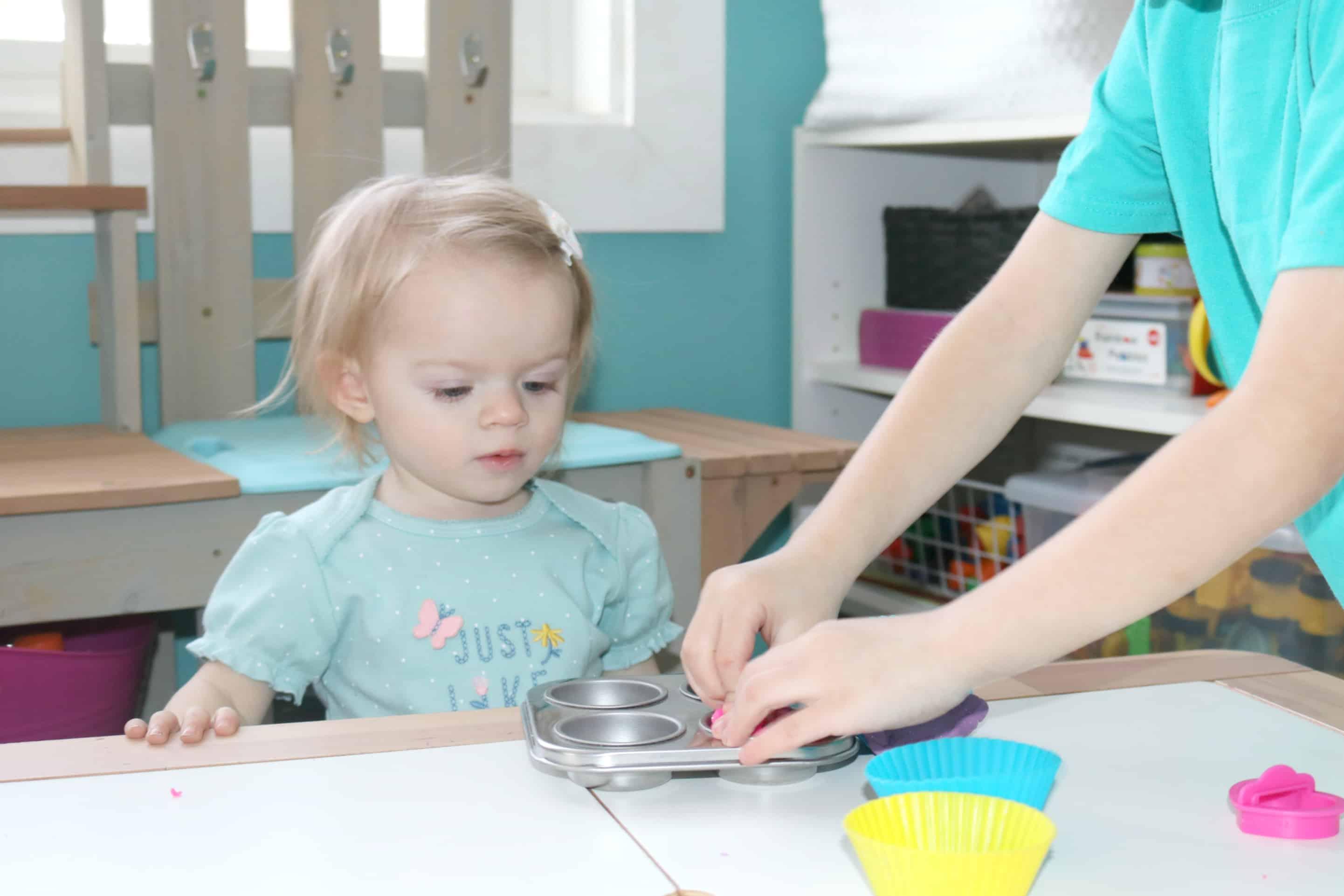 Cupcake Dough Preschool STEAM Activity