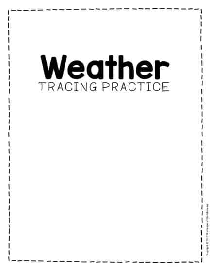 This is an image of Free Printable Weather Worksheets pertaining to esl
