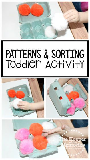 Patterns & Sorting Toddler Activity