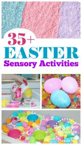 35+ Easter Sensory Activities for Little Kids