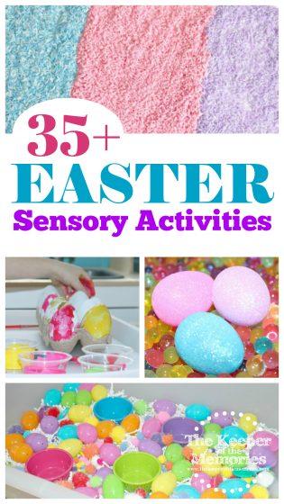 35+ Easter Sensory Activities