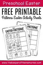 Free Printable Patterns Easter Activity Sheets