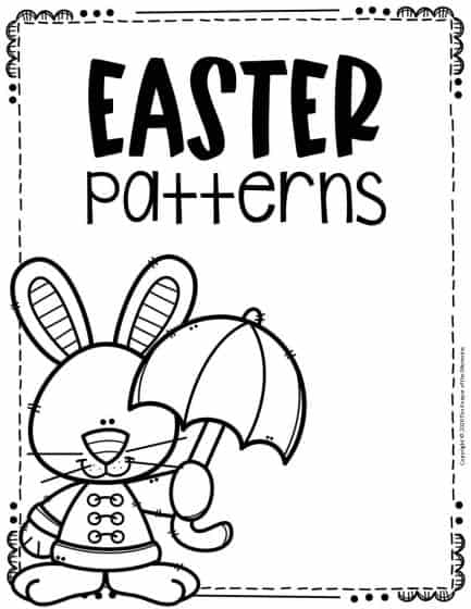 Patterns Easter Activity Sheets
