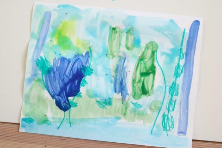 Pond Art for Preschoolers 10