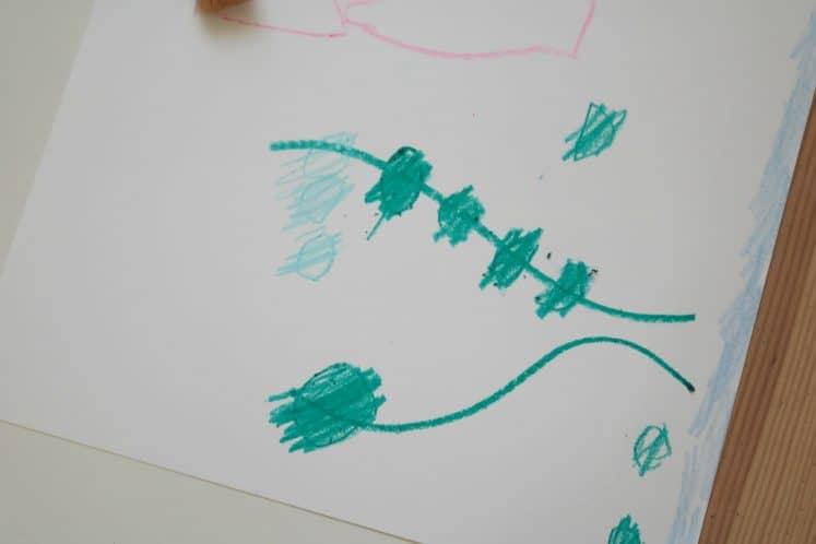 Pond Art for Preschoolers 2