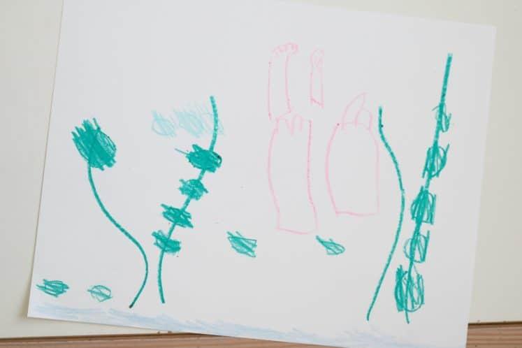 Pond Art for Preschoolers 3