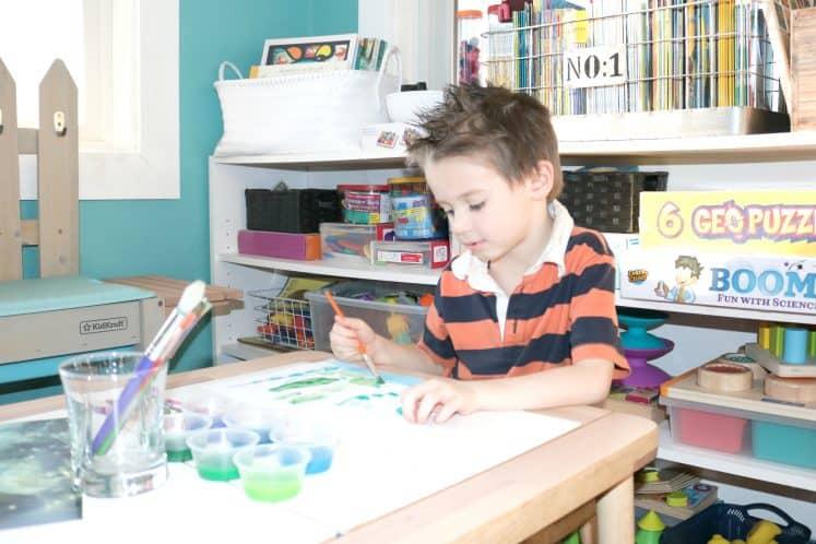 Pond Art for Preschoolers 5
