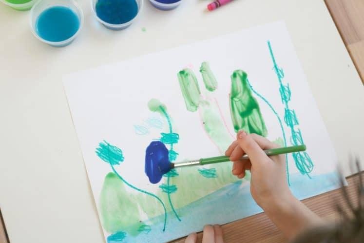 Pond Art for Preschoolers 6