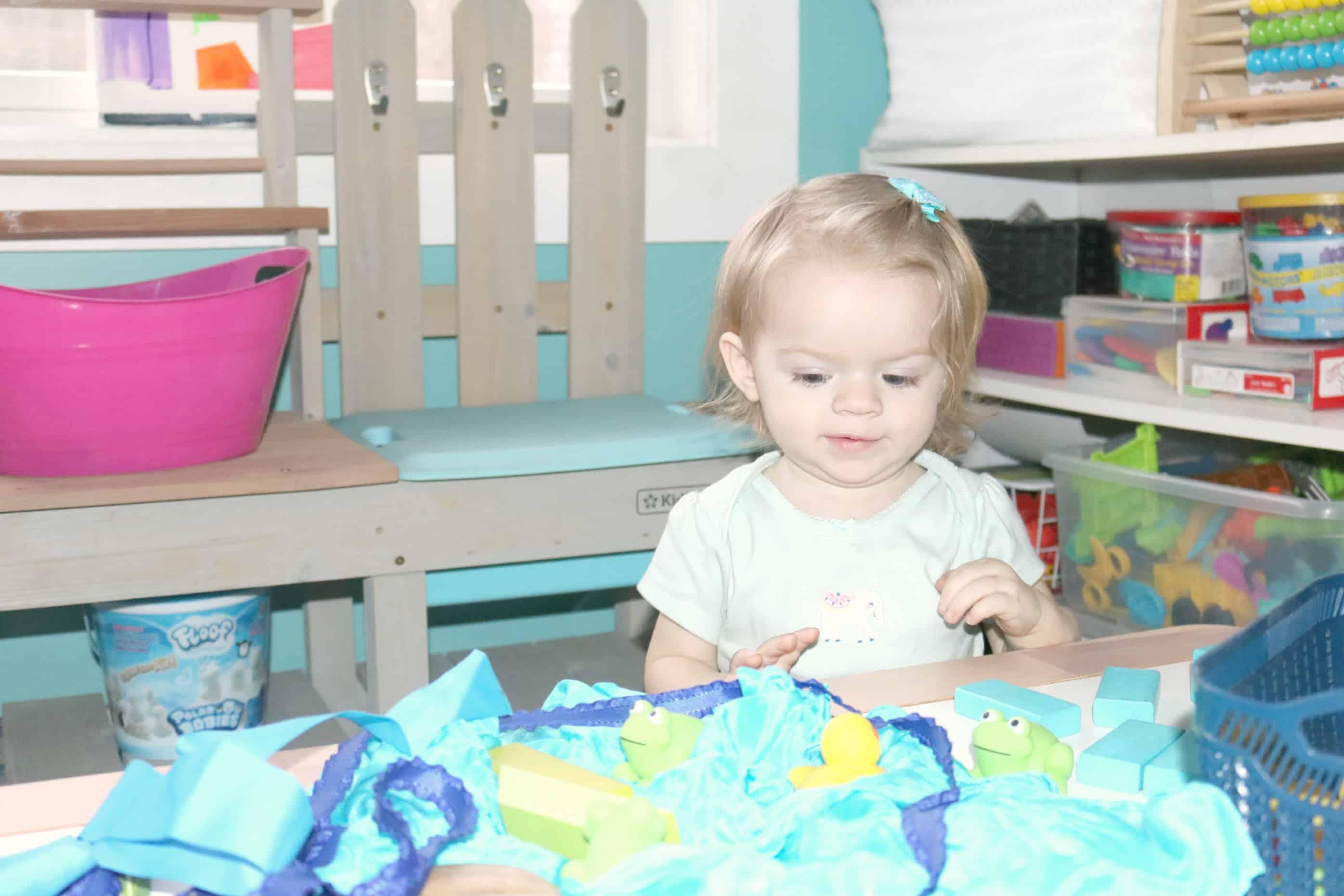 Preschool Pond Theme Blocks Activity