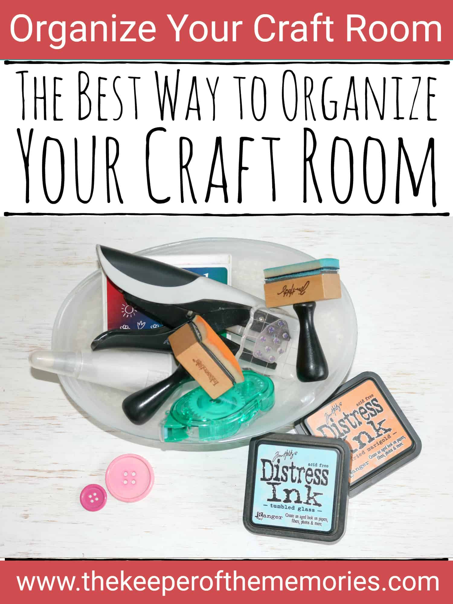 The Best Way to Organize Your Craft Room
