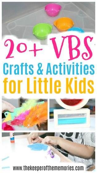 20+ VBS Crafts & Activities for Little Kids