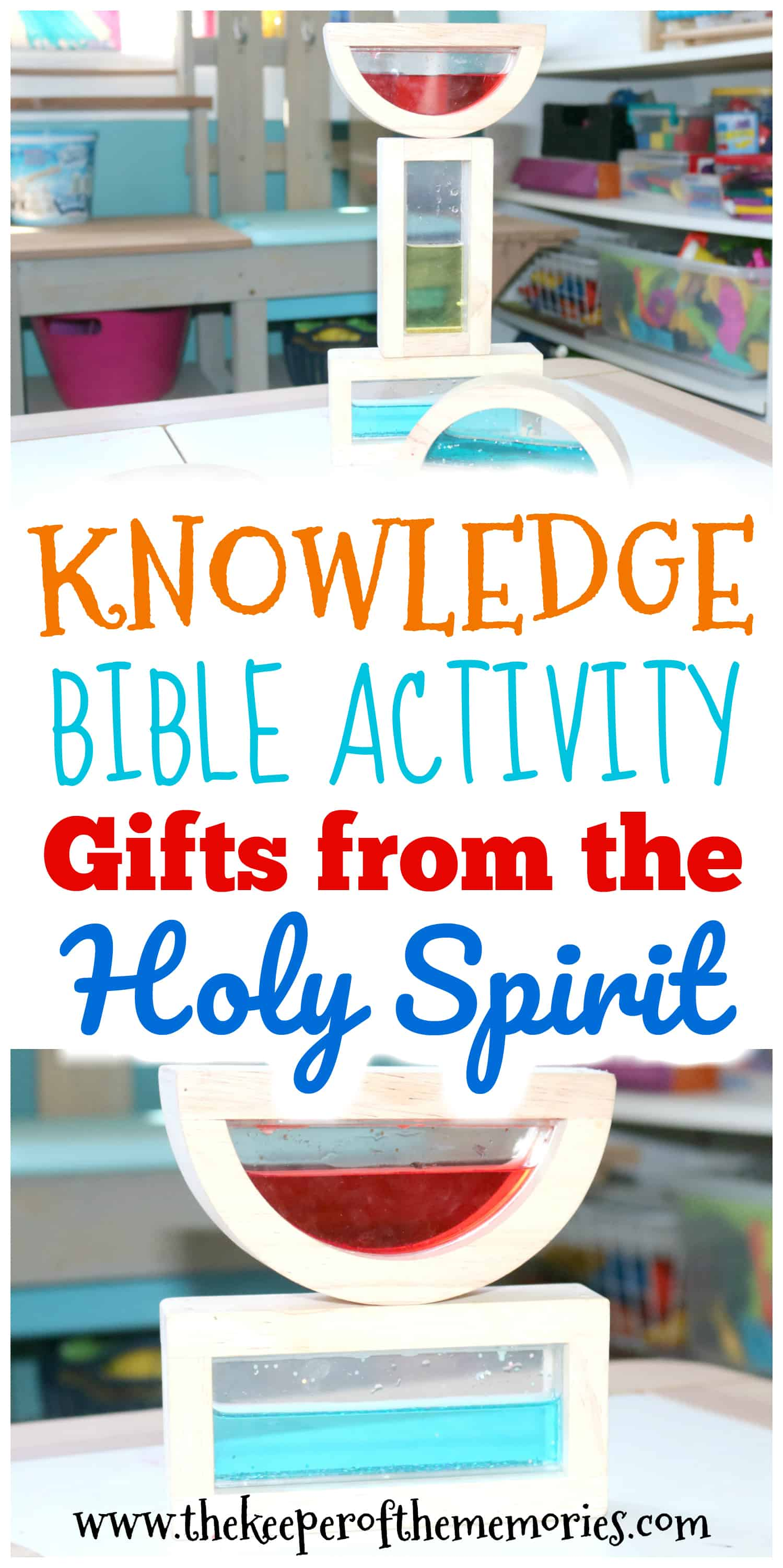 Gifts from the Holy Spirit Knowledge Activity for Little Kids