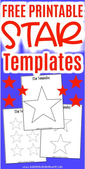 Printable Star Templates