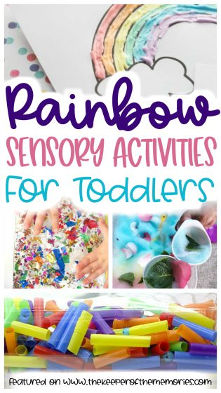 Rainbow Sensory Activities for Toddlers
