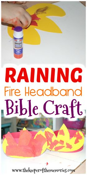 Raining Fire Headband