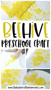 Beehive Preschool Craft