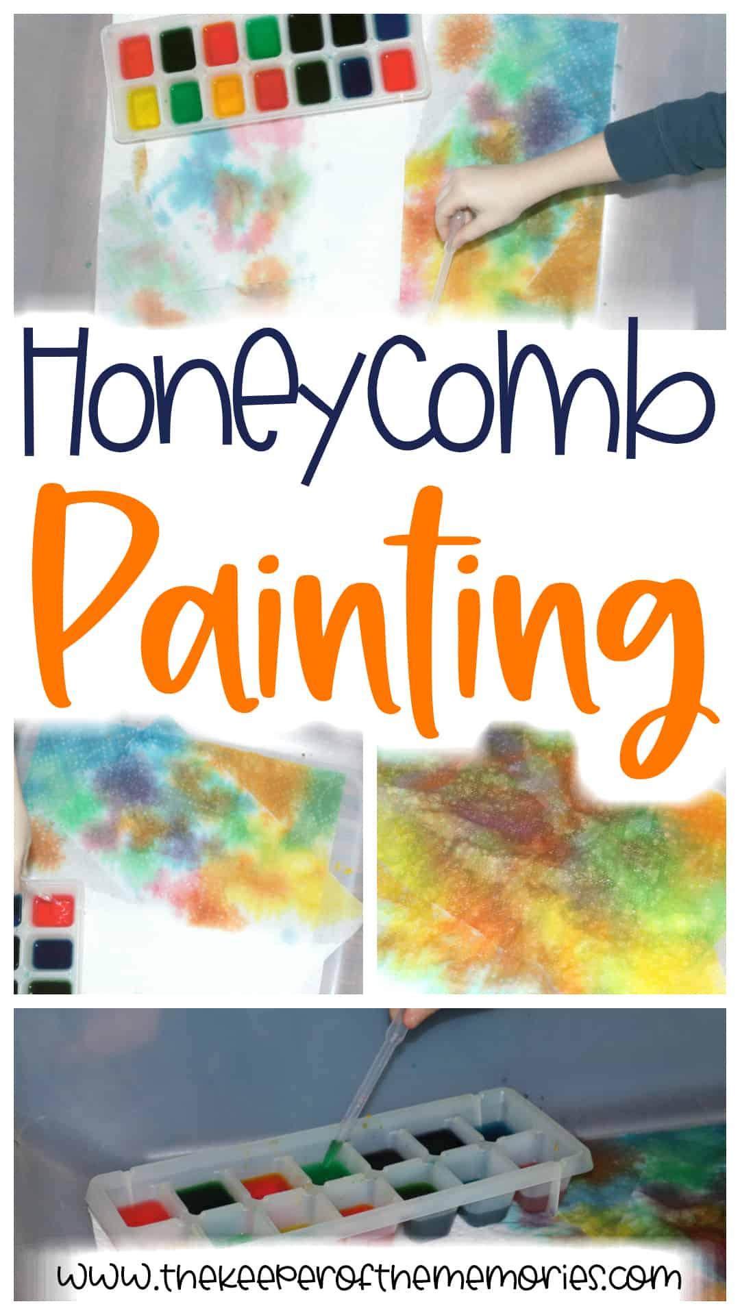 Bee Art Preschool Activity