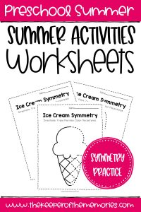 Free Printable Summer Activities Worksheets