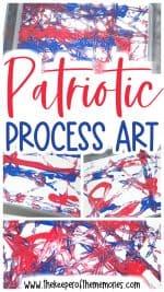 Patriotic Process Art