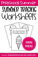 Free Printable Summer Tracing Worksheets